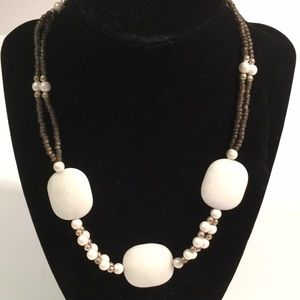 Beaded necklace/choker